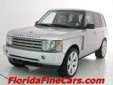 2004 Zambezi Silver Metallic Land Rover Range Rover HSE #9283457
