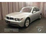2003 Titanium Silver Metallic BMW 7 Series 745i Sedan #9278309