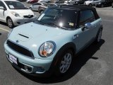 2011 Ice Blue Mini Cooper S Convertible #92972460
