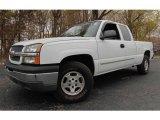 2004 Summit White Chevrolet Silverado 1500 LS Extended Cab 4x4 #92972669
