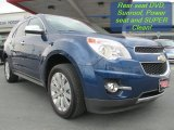 2010 Navy Blue Metallic Chevrolet Equinox LTZ #92972664