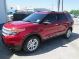 2014 Ruby Red Ford Explorer XLT #92972448