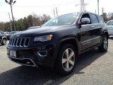 2014 Brilliant Black Crystal Pearl Jeep Grand Cherokee Overland 4x4 #92972379