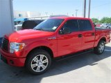 2014 Race Red Ford F150 STX SuperCrew #92972441