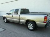 2000 Light Pewter Metallic Chevrolet Silverado 1500 LS Extended Cab #9288392