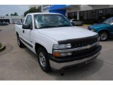 2001 Summit White Chevrolet Silverado 1500 Regular Cab #9276198