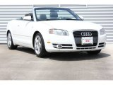 2008 Ibis White Audi A4 2.0T Cabriolet #92972789