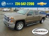 2014 Brownstone Metallic Chevrolet Silverado 1500 LT Crew Cab 4x4 #92972706