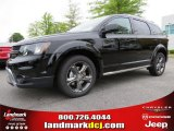 2014 Pitch Black Dodge Journey Crossroad #93006354