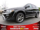 2014 Pitch Black Dodge Journey Crossroad #93006353