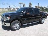 2014 Tuxedo Black Ford F150 XLT SuperCrew 4x4 #93006193
