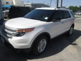 2014 White Platinum Ford Explorer XLT #93006192