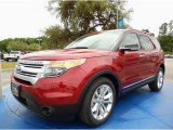 2014 Ruby Red Ford Explorer XLT #93006270