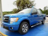 2014 Blue Flame Ford F150 STX SuperCrew #93038675
