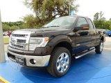 2014 Kodiak Brown Ford F150 XLT SuperCab 4x4 #93038671