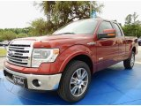 2014 Sunset Ford F150 Lariat SuperCab #93038670