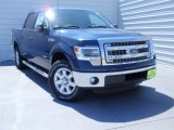 2014 Blue Jeans Ford F150 XLT SuperCrew #93038994
