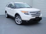 2014 White Platinum Ford Explorer XLT #93038993