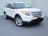 2014 White Platinum Ford Explorer XLT #93038992
