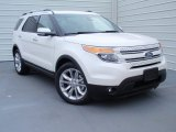 2014 White Platinum Ford Explorer Limited #93038991