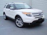 2014 White Platinum Ford Explorer Limited #93038991