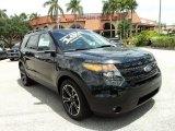2013 Tuxedo Black Metallic Ford Explorer Sport 4WD #93038658