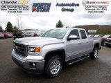 2014 Quicksilver Metallic GMC Sierra 1500 SLE Double Cab 4x4 #93038866