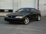 1996 Black Ford Mustang V6 Coupe #93039297