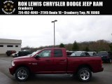 2014 Deep Cherry Red Crystal Pearl Ram 1500 Tradesman Quad Cab 4x4 #93038705