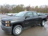 2014 Black Chevrolet Silverado 1500 WT Double Cab 4x4 #93038820