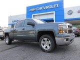 2014 Blue Granite Metallic Chevrolet Silverado 1500 LT Crew Cab 4x4 #93039029
