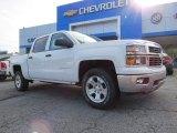 2014 Summit White Chevrolet Silverado 1500 LT Crew Cab #93039028