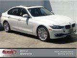 2014 Mineral White Metallic BMW 3 Series 328i Sedan #93039006