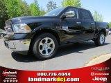 2014 Black Ram 1500 Laramie Crew Cab 4x4 #93090076