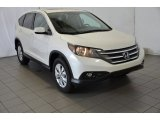2014 White Diamond Pearl Honda CR-V EX-L #93089861
