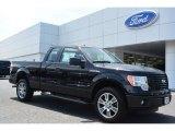 2014 Tuxedo Black Ford F150 STX SuperCab #93090102