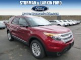 2014 Ruby Red Ford Explorer XLT 4WD #93090035