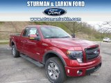 2014 Ruby Red Ford F150 FX4 SuperCab 4x4 #93090029