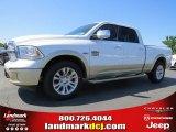 2014 Bright White Ram 1500 Laramie Longhorn Crew Cab #93090079