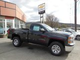 2014 Tungsten Metallic Chevrolet Silverado 1500 WT Regular Cab 4x4 #93089897