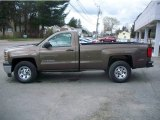 2014 Brownstone Metallic Chevrolet Silverado 1500 WT Regular Cab 4x4 #93089895