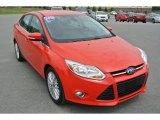 2012 Race Red Ford Focus SEL Sedan #93090455