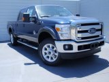 2015 Blue Jeans Ford F250 Super Duty Lariat Crew Cab 4x4 #93090228
