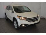 2014 White Diamond Pearl Honda CR-V EX-L #93089864