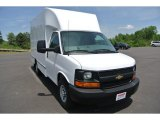 2014 Summit White Chevrolet Express Cutaway 3500 Moving Van #93090433