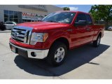 2011 Race Red Ford F150 STX SuperCab #93090309