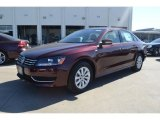 2014 Opera Red Metallic Volkswagen Passat 1.8T Wolfsburg Edition #93137920