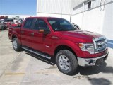 2014 Ruby Red Ford F150 XLT SuperCrew 4x4 #93137781