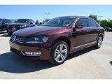 2014 Opera Red Metallic Volkswagen Passat TDI SEL Premium #93137915
