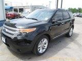2014 Tuxedo Black Ford Explorer XLT #93137776